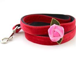 Rosebud Red Dog Leash
