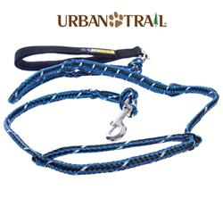 Urban Trail® Jogger's Leash w/Traffic Handle, Shock Absorber, Reflective