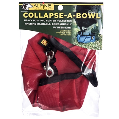 Collapse-A-Bowl™, Portable Travel Bowl