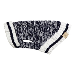 Cabin Sweater Navy Melange