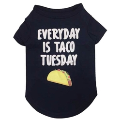 Taco Tuesday T-Shirt in Heather Blue