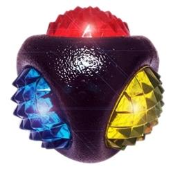 "MultiPet - 3"" TPR Dental Diamond Ball"