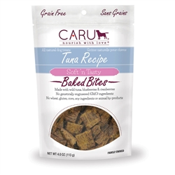 Caru Soft 'n Tasty Natural Tuna Recipe Bites for Dogs 4oz.