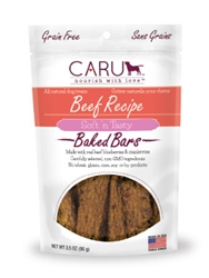 Caru Soft 'n Tasty Natural Beef Recipe Bars for Dogs 3.5oz