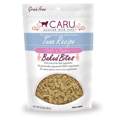 Caru Soft 'n Tasty Natural Tuna Recipe Bites for Cats 3oz.