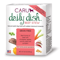 Caru Daily Dish Beef Stew for Dogs 12.5 oz.