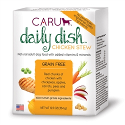 Caru Daily Dish Chicken Stew for Dogs 12.5 oz.