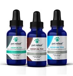 Mix & Match Pet Releaf CBD Hemp Oil