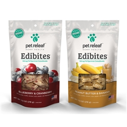 Mix & Match Pet Releaf Edibites - 7.5oz bags