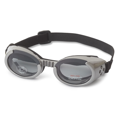 Gunmetal Gray ILS Doggles with Smoke Lens