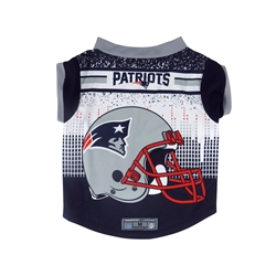 NFL New England Patriots Dog Performance Tee Shirt