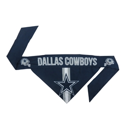 NFL Dallas Cowboys Dog Bandana - TIE ON