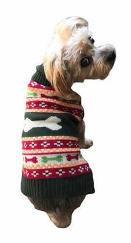 Fair Isle Bones Sweater