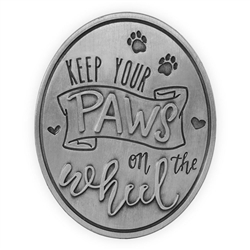 Pawsitive Visor Clip-Keep Your Paws on the Wheel