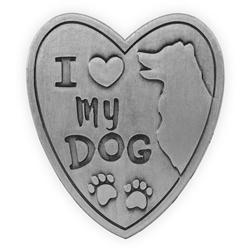 Pawsitive Visor Clip-I Love My Dog