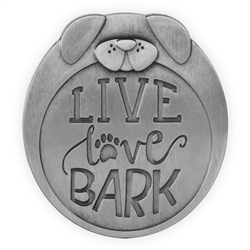 Pawsitive Visor Clip-Live Love Bark