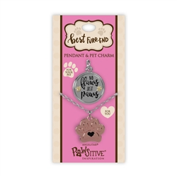 Best Furr-End Pendant & Charm Set-No Flaws Just Paws