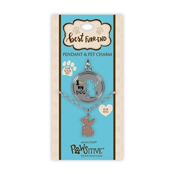 Best Furr-End Pendant & Charm Set-I Love My Dog