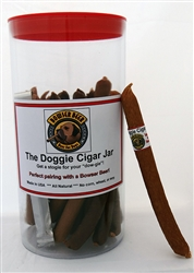 Bowser Doggie Cigars & Authentic Cigar Jar