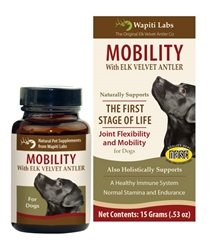 Dog Mobility Formula with Elk Velvet Antler