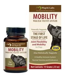 Dog Mobility Formula with Elk Velvet Antler