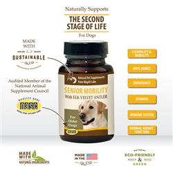 Senior Mobility Formula with Elk Velvet Antler and Additional Ginseng