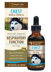 Chest Herbal Formula for Dogs, 2oz.