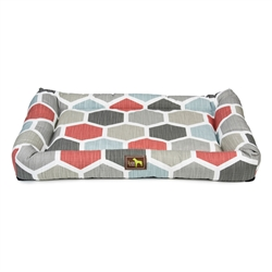 Hexagon Print Crate Cuddler