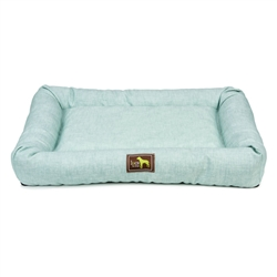 Turquoise Indoor / Outdoor Crate Cuddler (Stain & Water-Resistant)