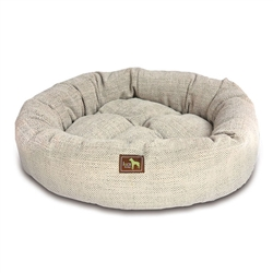 Oyster Tweed Luca Nest Bed