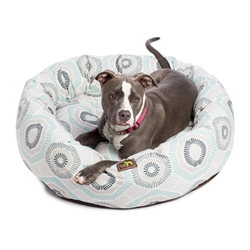 Charm Blue Print Luca Nest Bed