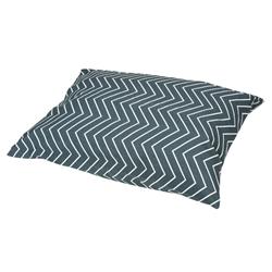 Chevron Granite Print Pillow Bed