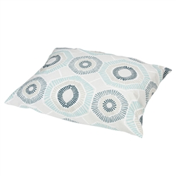 Charm Blue Print Pillow Bed