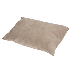 Beige Pillow Bed