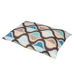 Hampton Blue Print Pillow Bed