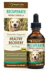 Recuperate Herbal Formula for Dogs, 2oz.