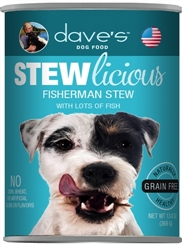 DAVES NATURALLY HEALTHY SHREDDED FISHERMANS STEW CASE OF 24 (13oz)