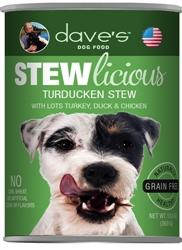 DAVES STEWLICIOUS TURDUCKEN STEW CASE OF 12 (13 oz)