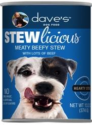 DAVES STEWLICIOUS MEATY BEEFY STEW CASE OF 12 (13oz)