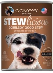 DAVES STEWLICIOUS GOBBLEDY GOOD STEW CASE OF 12 (13oz)