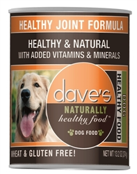 DAVES NATURALLY HEALTHY, HEALTHY JOINT FORMULA CASE OF 12 (13oz)