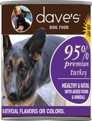 DAVES PREMIUM TURKEY 95% MEAT CASE OF 12 (13oz)
