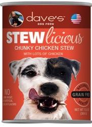 DAVES STEWLICIOUS CHUNKY CHICKEN STEW CASE OF 12 (13 oz)