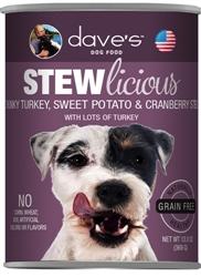 DAVES STEWLICIOUS CHUNKY TURKEY, SWEET POTATO & CRANBERRY STEW CASE OF 12 (13 oz)