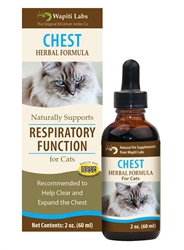 Chest Herbal Supplement Formula for Cats, 2oz.