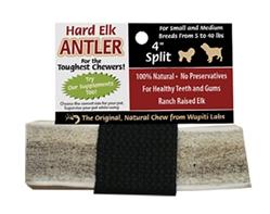 "4"" Split - Wapiti Labs Elk Antler Chews"