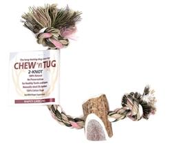 Elk Antler Chew N Tug 2 Knot