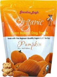 Grandma Lucys Dog Organic  Baked  Pumpkin  Treat  14 oz.
