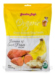 Grandma Lucys Dog Organic  Baked  Banana  Treat  14 oz.