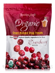 Grandma Lucys Dog Organic  Baked  Cranberry  Treat  14oz.